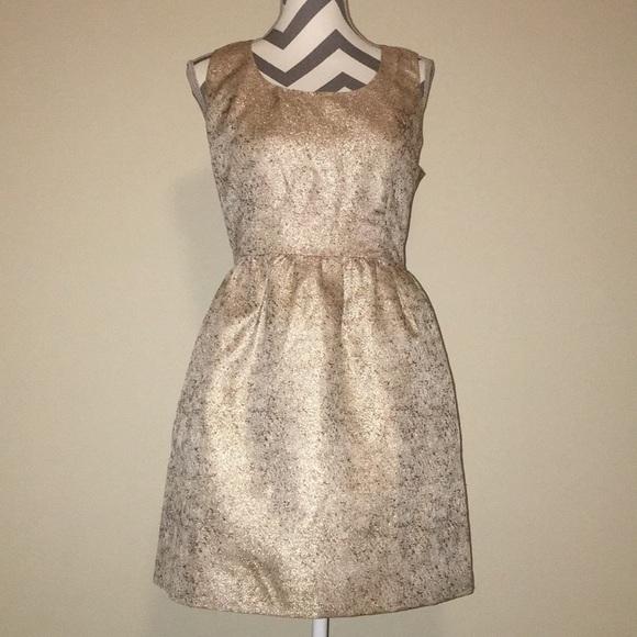 Ark & Co Dresses | Ark Co Gold Cocktail Dress | Poshmark